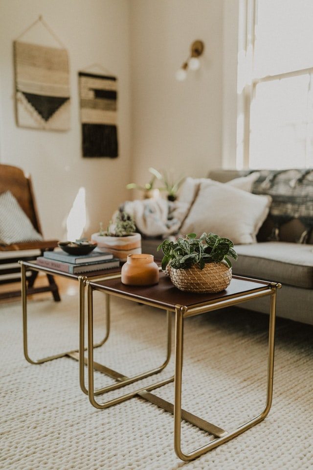 How to Style End Tables