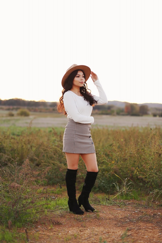How to Style High Knee Boots