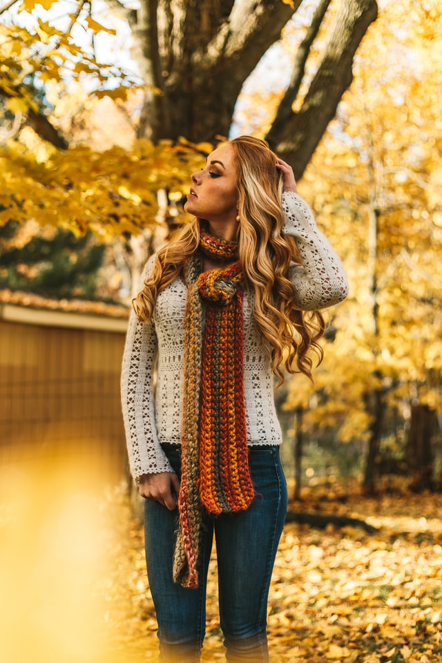 How to Style Infinity Scarf