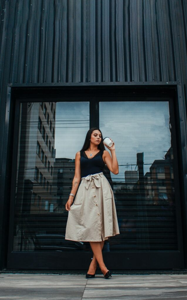 How to Style Long Skirts